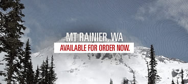 Mount Rainier Topographic Map