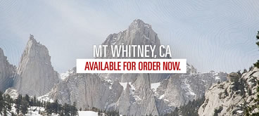 Mount Whitney Topographic Map