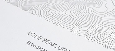 Lone Peak Topographic Map